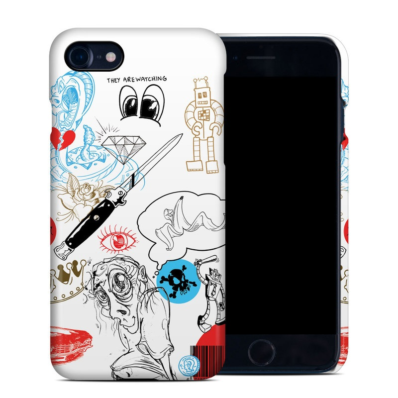 Tattoo Ink iPhone 7 Clip Case