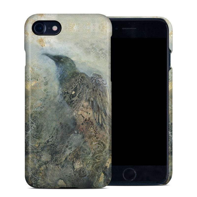 iPhone 8 Clip Case design of Painting, Water, Geology, Art, Rock, Watercolor paint, Illustration with black, gray, white, blue colors