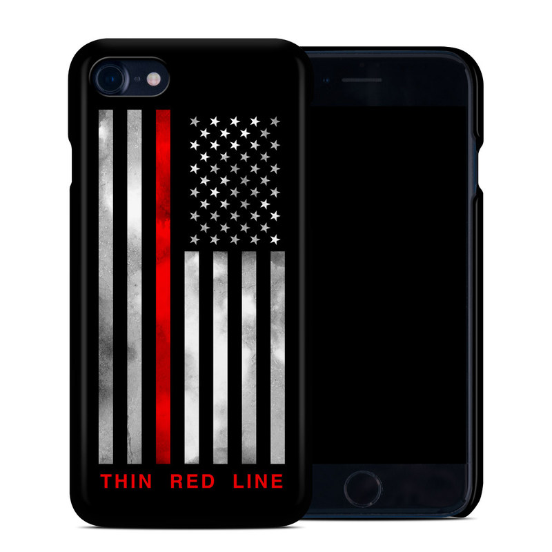Thin Red Line iPhone 8 Clip Case