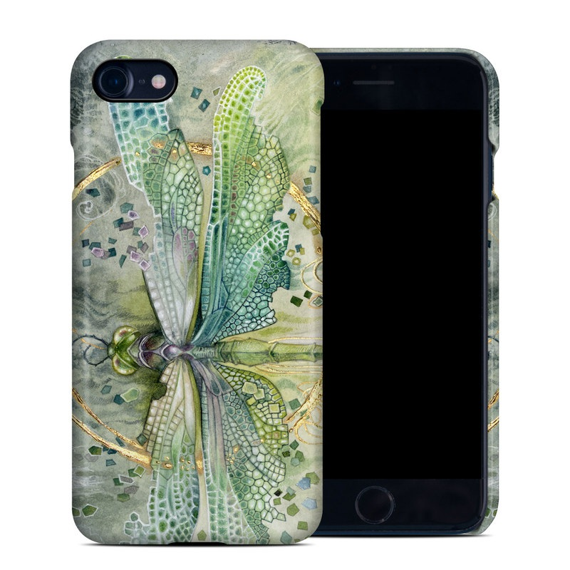 iPhone 8 Clip Case design of Green, Painting, Watercolor paint, Water, Acrylic paint, Leaf, Visual arts, Plant, Art, Photography with green, yellow, blue, gray colors