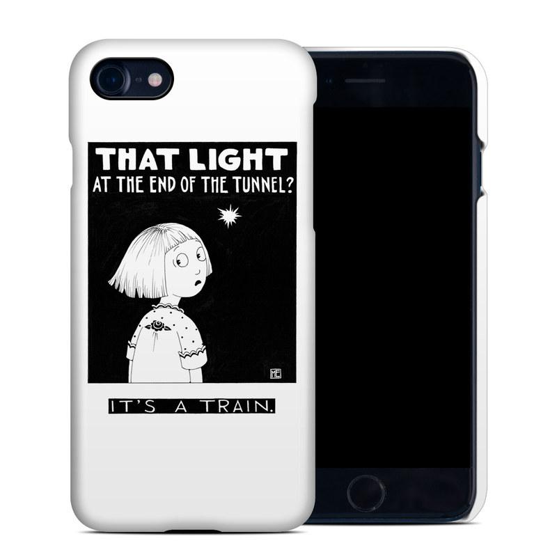 Train Tunnel iPhone 8 Clip Case