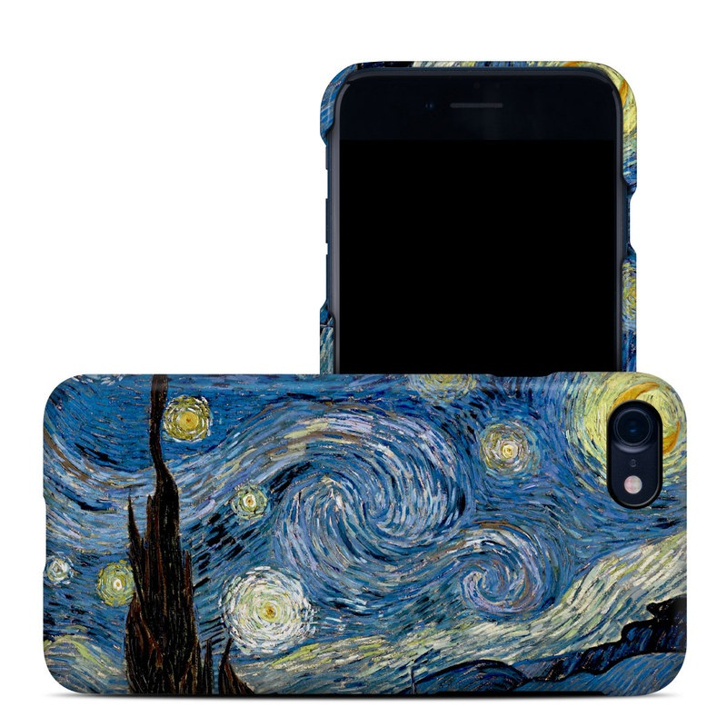 iPhone 8 Clip Case design of Painting, Purple, Art, Tree, Illustration, Organism, Watercolor paint, Space, Modern art, Plant with gray, black, blue, green colors