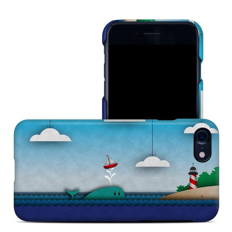 Whale Sail iPhone 8 Clip Case
