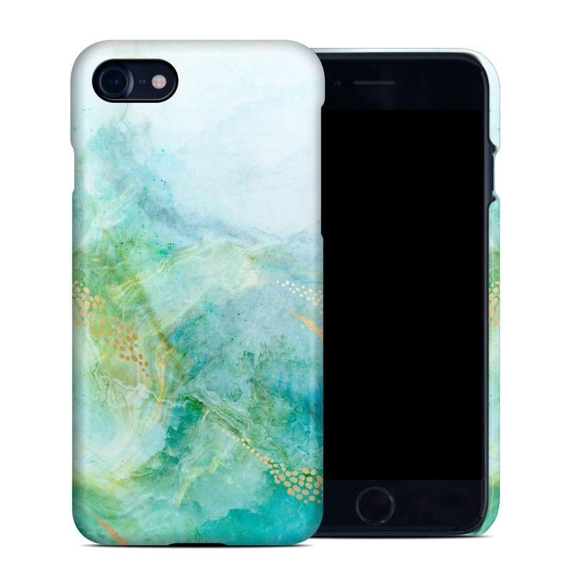 iPhone 8 Clip Case design of Blue, Watercolor paint, Aqua, Line, Sky, Design, Pattern, Art, Illustration with blue, yellow, orange colors