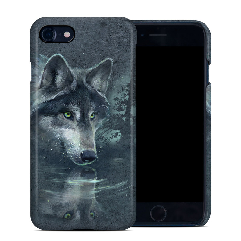 Wolf Reflection iPhone 8 Clip Case