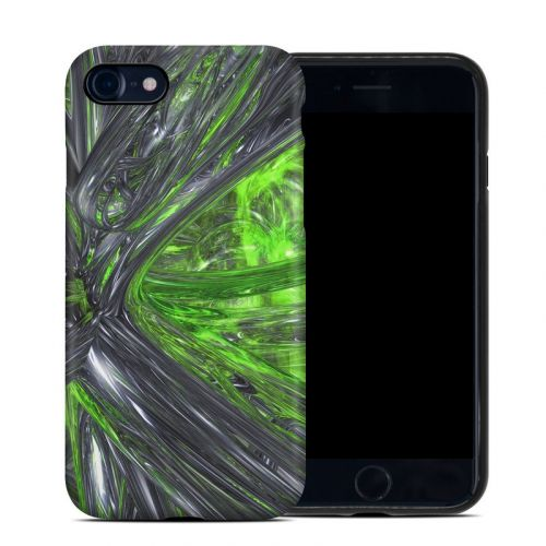 Emerald Abstract iPhone 8 Hybrid Case