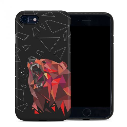 Bears Hate Math iPhone 8 Hybrid Case