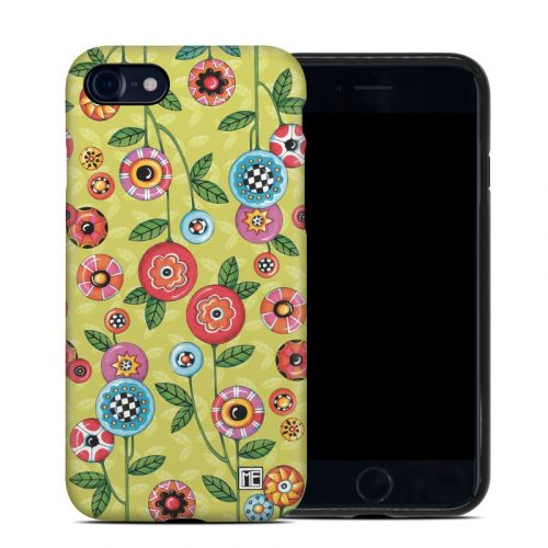 Button Flowers iPhone 7 Hybrid Case