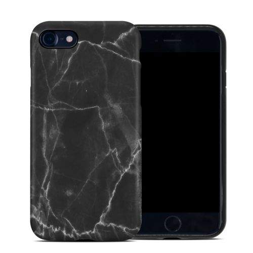 Black Marble iPhone 8 Hybrid Case