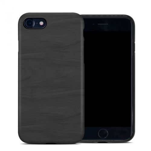 Black Woodgrain iPhone 8 Hybrid Case