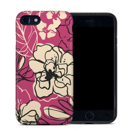 Black Lily iPhone 7 Hybrid Case
