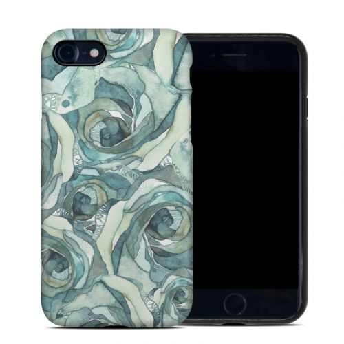 Bloom Beautiful Rose iPhone 8 Hybrid Case