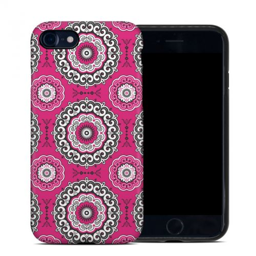 Boho Girl Medallions iPhone 7 Hybrid Case