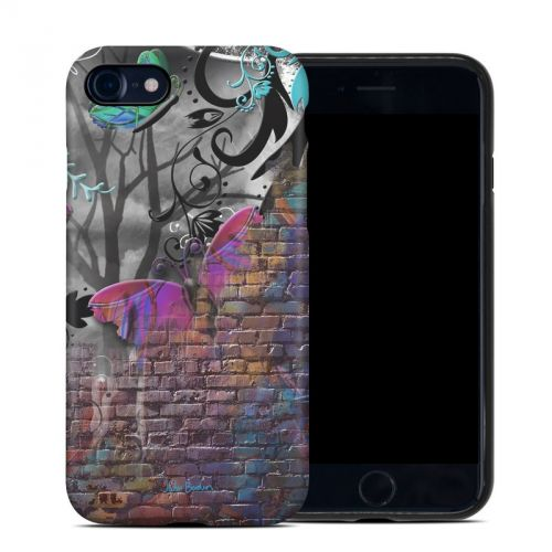 Butterfly Wall iPhone 8 Hybrid Case
