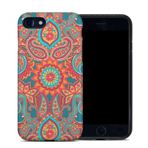 Carnival Paisley iPhone 8 Hybrid Case