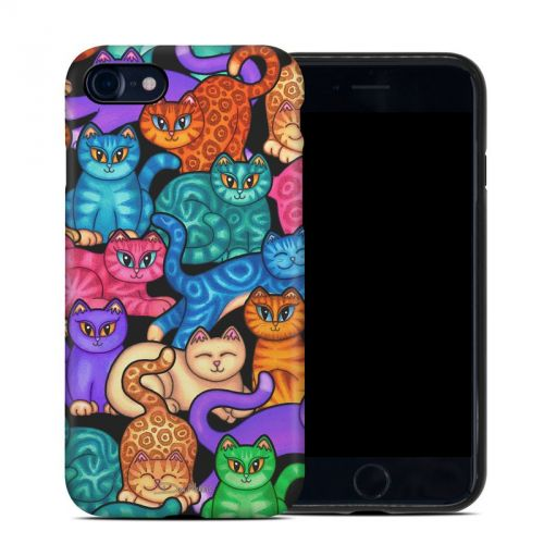 Colorful Kittens iPhone 8 Hybrid Case