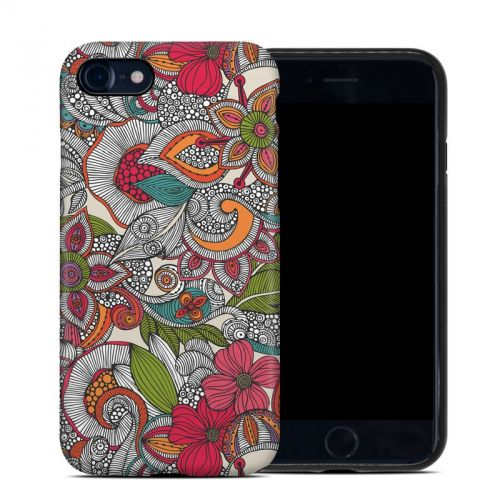 Doodles Color iPhone 8 Hybrid Case