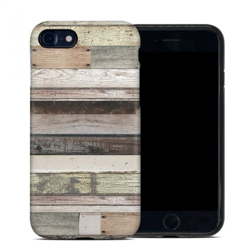 Eclectic Wood iPhone 8 Hybrid Case