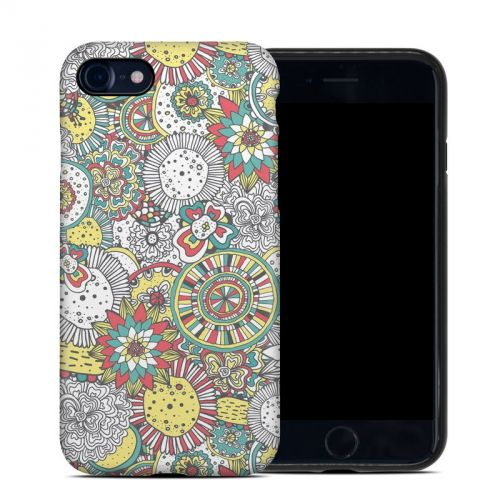Faded Floral iPhone 8 Hybrid Case