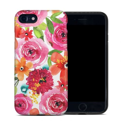 Floral Pop iPhone 8 Hybrid Case