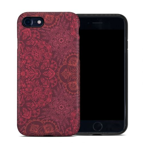 Floral Vortex iPhone 8 Hybrid Case