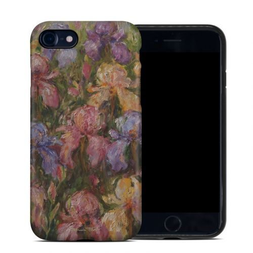 Field Of Irises iPhone 8 Hybrid Case