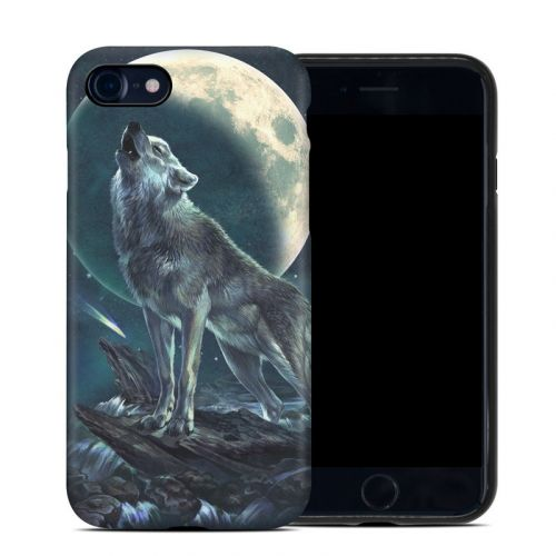 Howling Moon Soloist iPhone 8 Hybrid Case