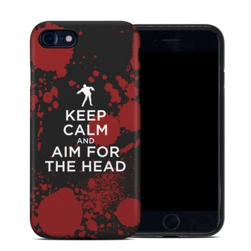 Keep Calm - Zombie iPhone 7 Hybrid Case