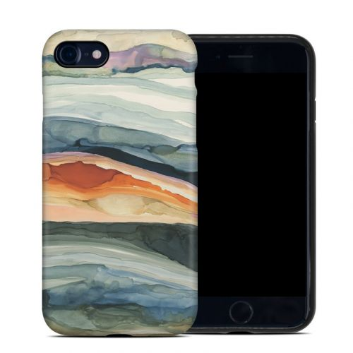 Layered Earth iPhone 8 Hybrid Case