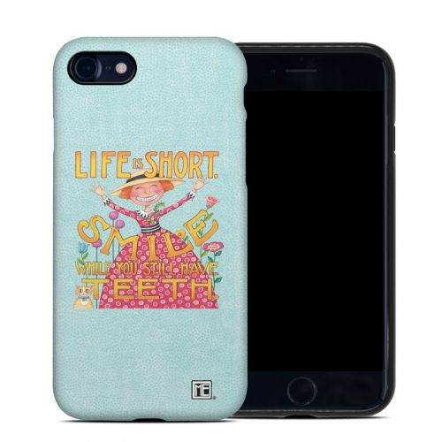 Life is Short iPhone 8 Hybrid Case