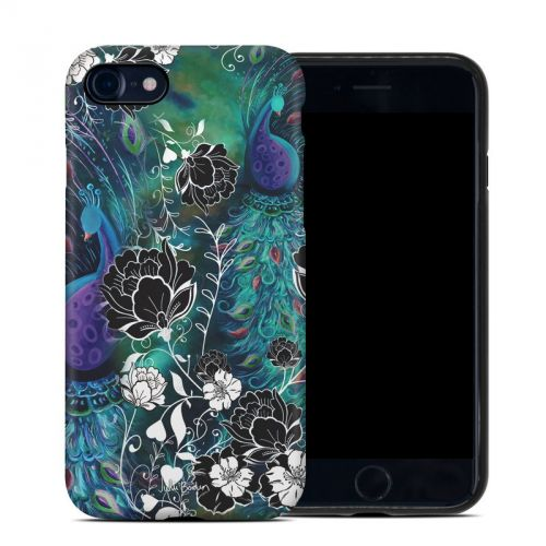 Peacock Garden iPhone 8 Hybrid Case