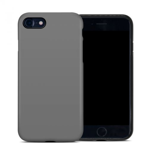 Solid State Grey iPhone 8 Hybrid Case