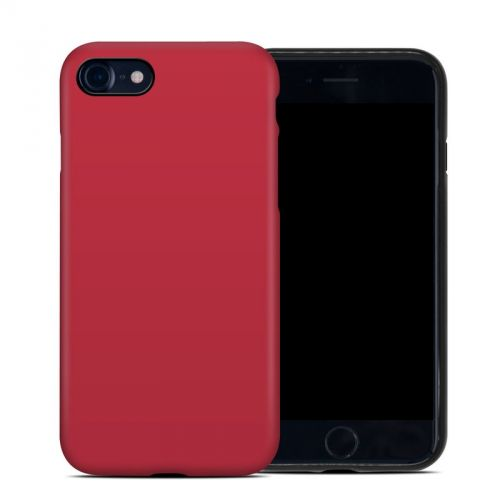 Solid State Red iPhone 8 Hybrid Case
