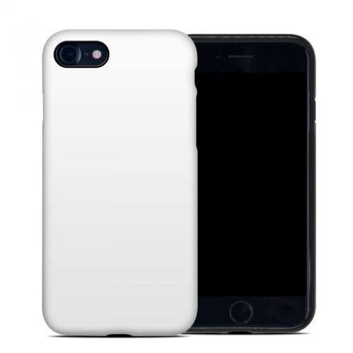 Solid State White iPhone 8 Hybrid Case