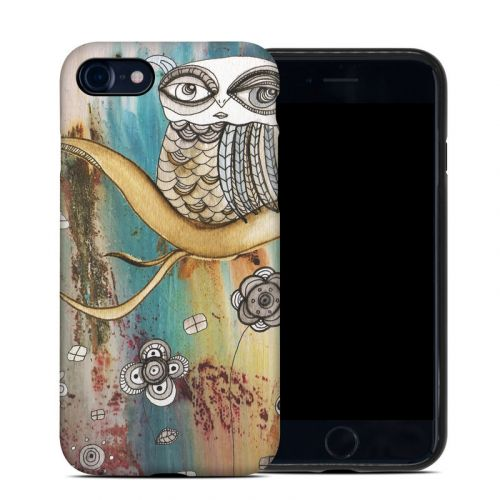 Surreal Owl iPhone 8 Hybrid Case