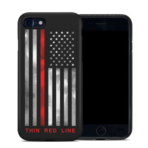Thin Red Line iPhone 8 Hybrid Case