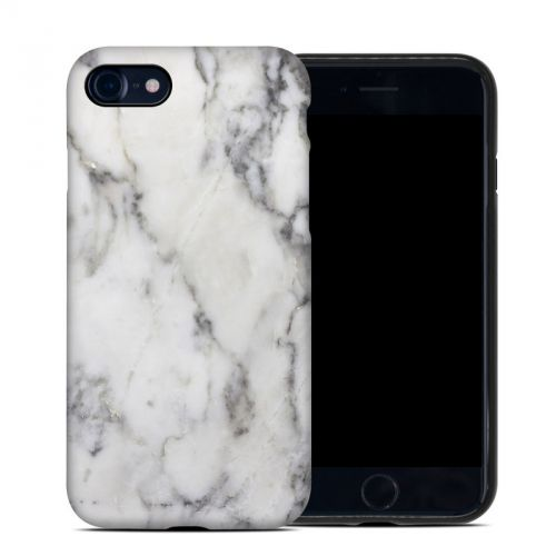 White Marble iPhone 8 Hybrid Case