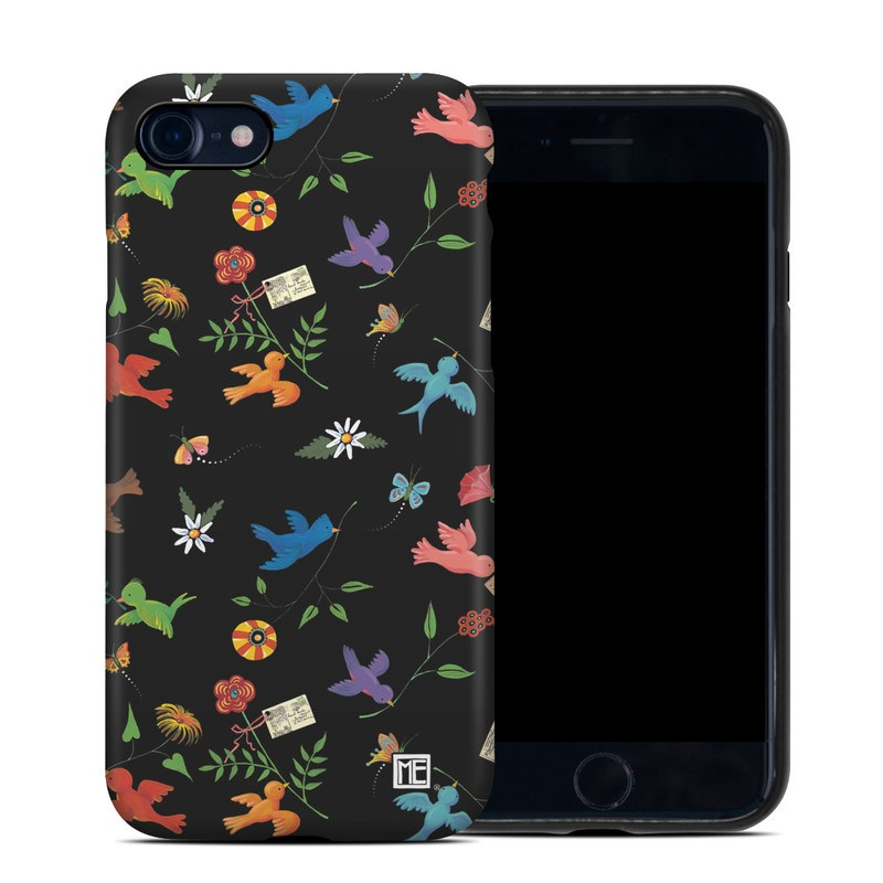 iPhone 8 Hybrid Case design of Pattern, Design, Textile, Graphic design with black, yellow, red, blue, green colors