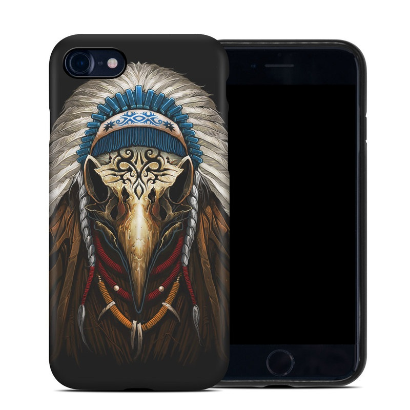 Eagle Skull iPhone 8 Hybrid Case