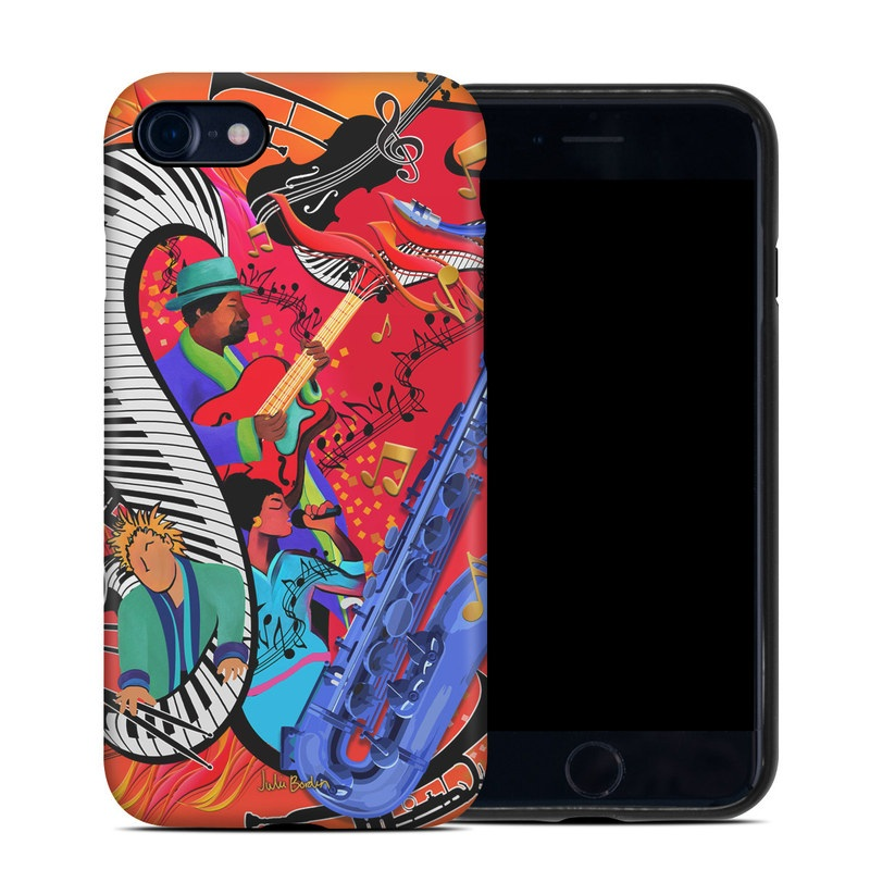Red Hot Jazz iPhone 8 Hybrid Case