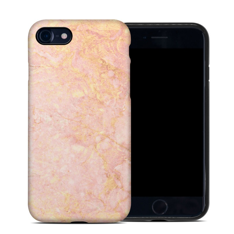 newest collection b5e47 ac823 Rose Gold Marble iPhone 8 Hybrid Case