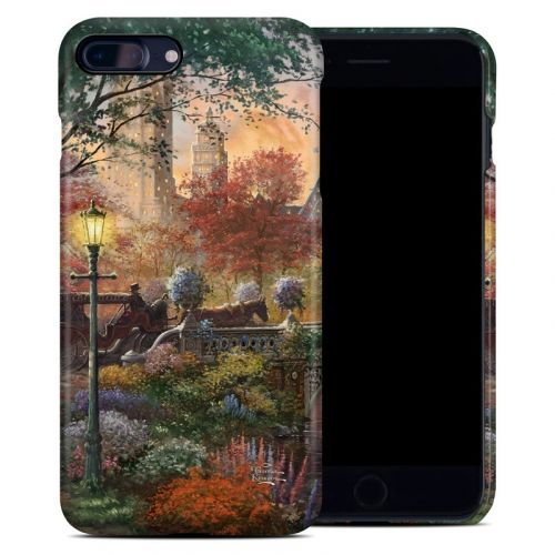 Autumn in New York iPhone 8 Plus Clip Case