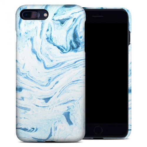 Azul Marble iPhone 8 Plus Clip Case
