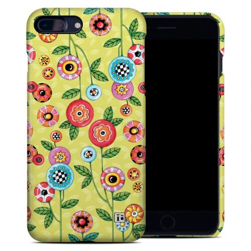 Button Flowers iPhone 8 Plus Clip Case