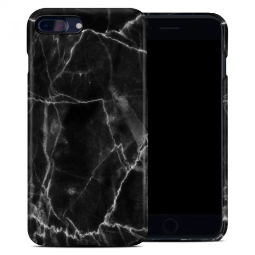 Black Marble iPhone 8 Plus Clip Case