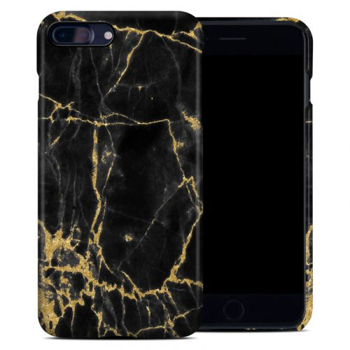 Black Gold Marble iPhone 8 Plus Clip Case