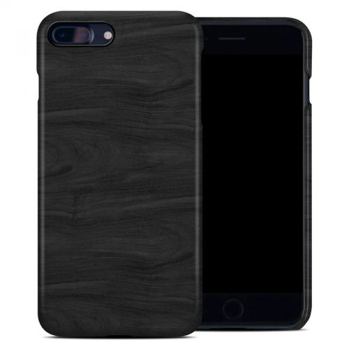 Black Woodgrain iPhone 8 Plus Clip Case