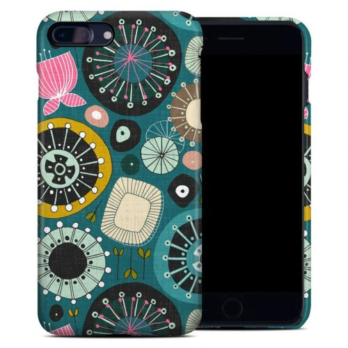 Blooms Teal iPhone 8 Plus Clip Case