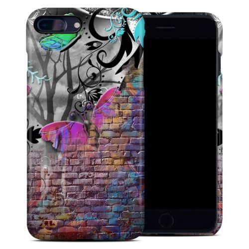 Butterfly Wall iPhone 8 Plus Clip Case