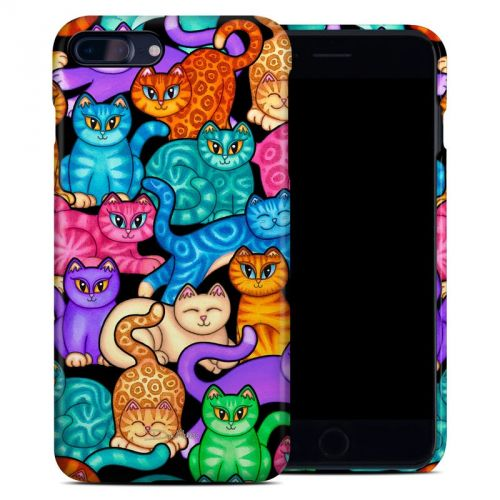 Colorful Kittens iPhone 8 Plus Clip Case